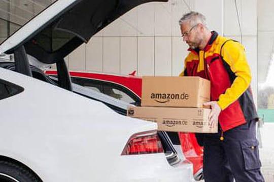 Amazon expérimente la livraison dans le coffre des Audi