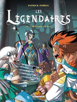 les légendaires - l'héritage du mal.
