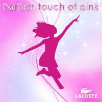 fond d'écran à télécharger depuis le site internet mobile lacoste touch of pink