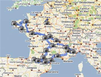 la france est le premier pays européen à disposer de google street view