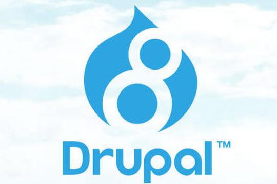 La version finale de Drupal 8 disponible