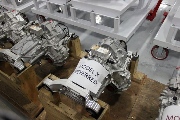 Un moteur Model X