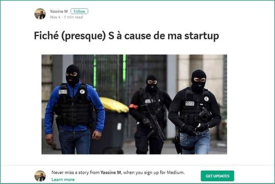 Pour booster sa start-up, un entrepreneur invente une interpellation antiterroriste