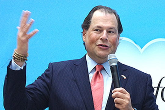 Salesforce fait un chiffre d'affaires de 200millions d'euros en France