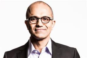 Satya Nadella est le nouveau CEO de Microsoft