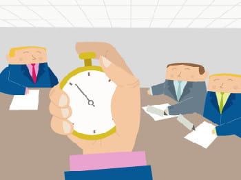 minutez vos interventions en réunion.