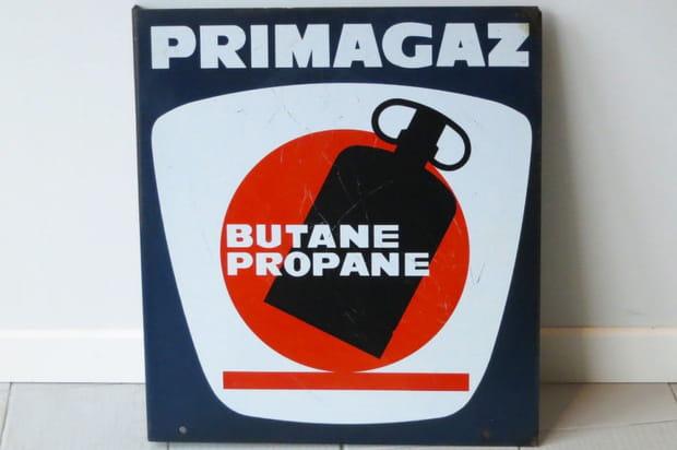 Plaque Primagaz, une cinquantaine d'euros
