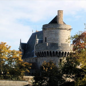 le château des ducs d'alençon.