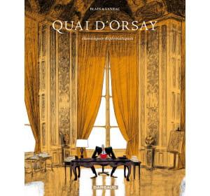 la bande dessinée 'quai d'orsay', d'abel lanzac (editions dargaud).