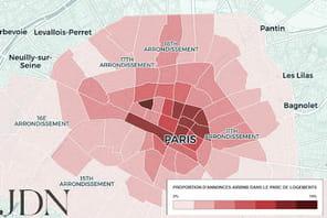 Hausse des loyers parisiens: l'effet Airbnb
