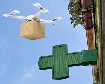 le drone pharmacien.