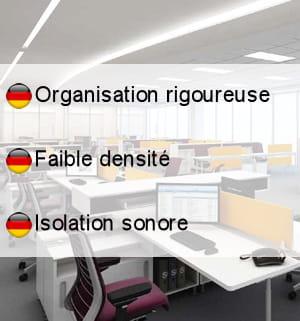 les bureaux en allemagne.