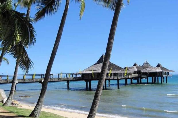 1er: Anse Vata, Nouméa (Nouvelle-Calédonie), 78,57€ par jour
