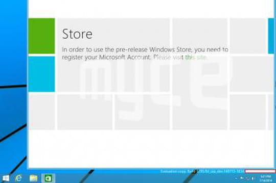 Windows 9 : fuite de nouvelles captures d'écran