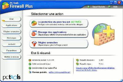 un des rares firewall gratuits pour windows