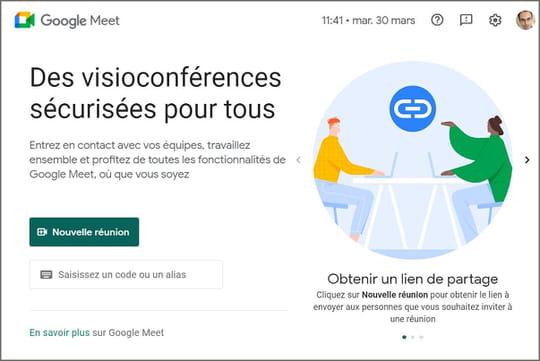Google Meet (gratuit): tout sur l'outil de visioconférence