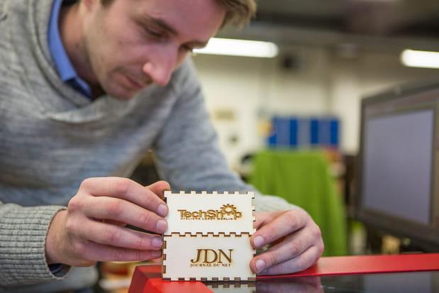 6 découpes laser, 8 imprimantes 3D