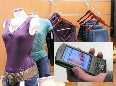 la réservation de vêtement peut se faire par téléphone.