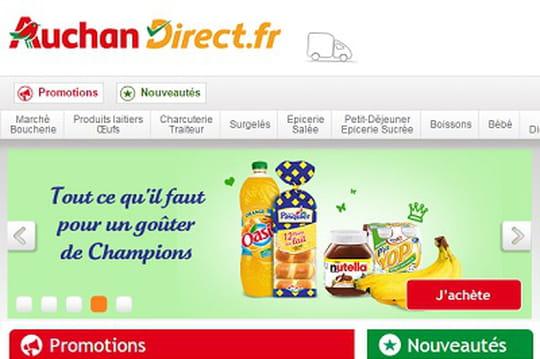 Comment le mobile dope l'activité d'AuchanDirect