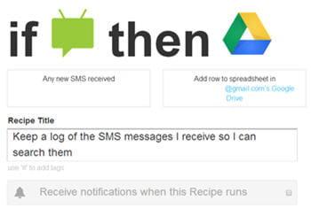 avec cette recette les sms reçus sur son téléphone android s'archivent dans un
