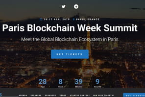 Le Paris Blockchain Week Summit se tiendra les 16 et 17 avril à Station F