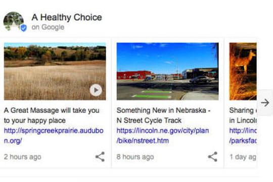 """Un nouveau """"podium"""" pour les entreprises bientôt en haut des résultats de Google ?"""