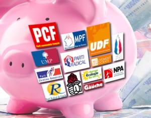 argent des partis politiques.