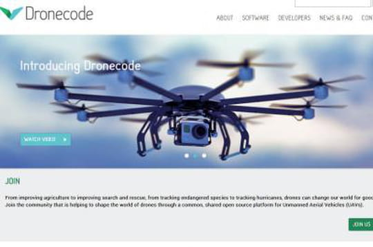 La Fondation Linux se lance dans les drones open source