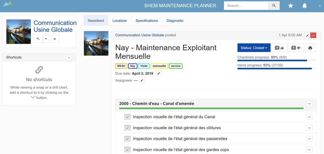 La Shem digitalise la maintenance de ses centrales hydroélectriques