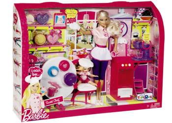 coffret barbie chef, 25,99euros.