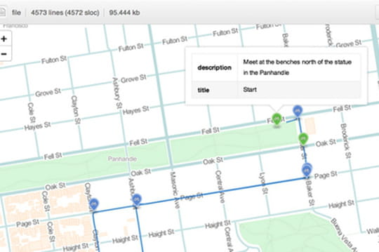 GitHub se met à la visualisation cartographique de données