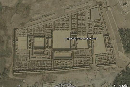 Le palais de Nabuchodonosor