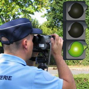 les policiers sont plus efficaces que les gendarmes pour contrôler la vitesse