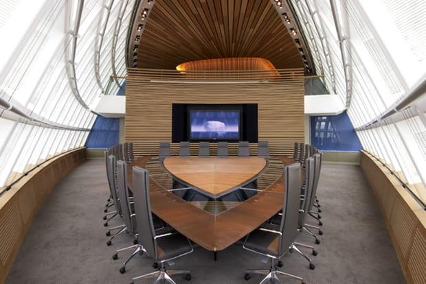 La salle du conseil : une salle de réunion avant tout