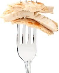 le poulet beyond meat surprend par sa ressemblance au vrai.