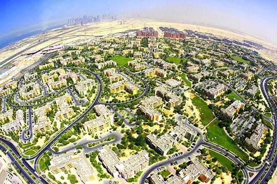 Quand Dubai crée des jardins artificiels