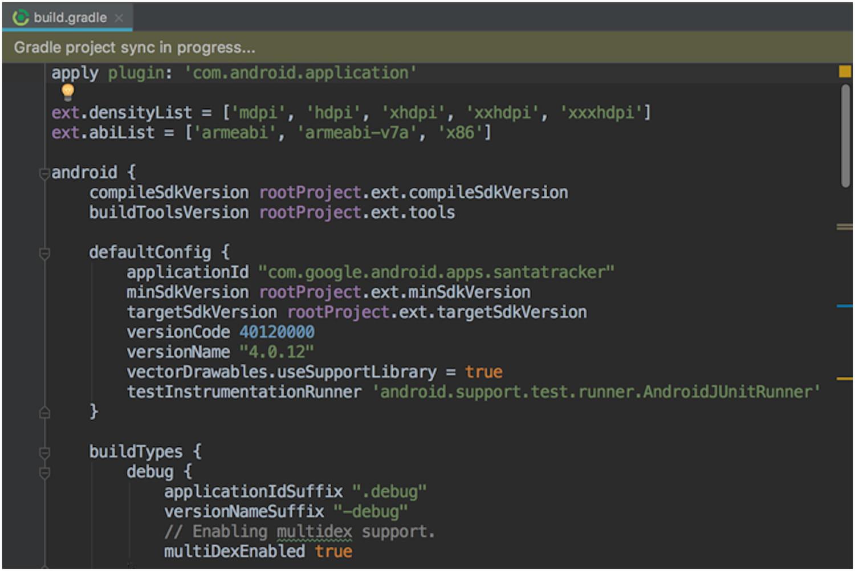 Résoudre l'erreur Unsupported method: BaseConfig.getApplicationIdSuffix() dans Gradle