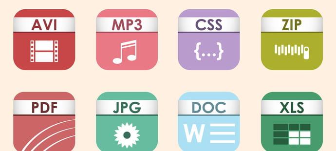 Extension d'un fichier informatique: définition et exemples