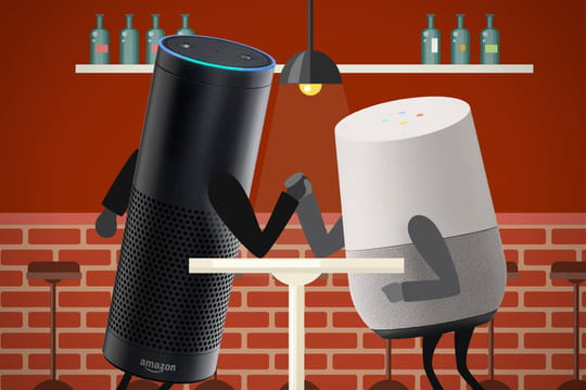 Amazon Echo vs Google Home : une guerre de positions