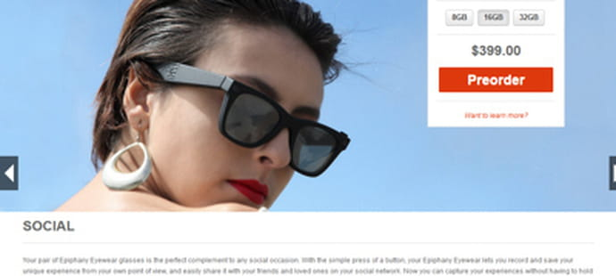 12 alternatives aux Google Glass
