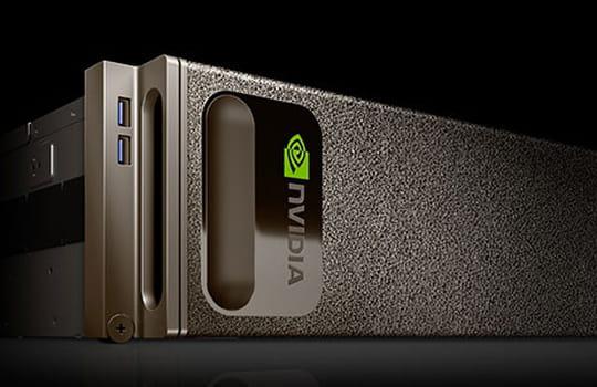 Nvidia dévoile un supercalculateur taillé pour l'intelligence artificielle