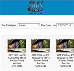 l'application mobile mgs promotion est destinée aux commerciaux de microsoft