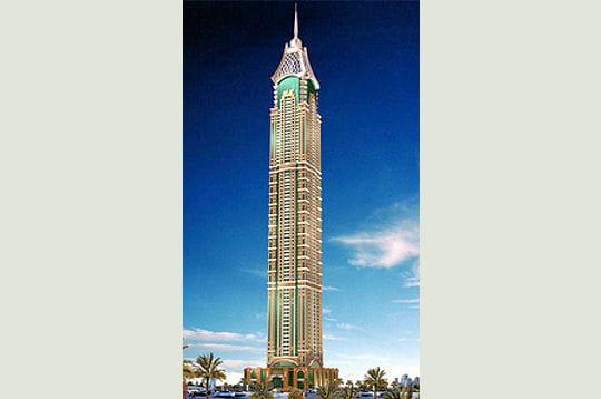Une tour luxueuse