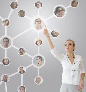 la part du réseau dans les décisions et les offres de recrutement prend une