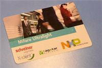 carte sans contact mifare de nxp.