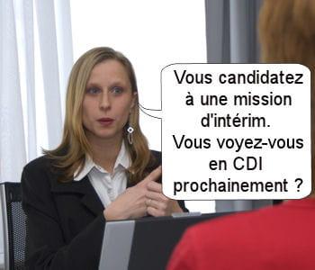 les recruteurs s'intéressent aux choix de vie des candidats.
