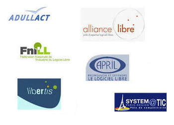 les principales associations françaises sur le logiciel libre et open source