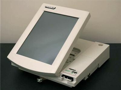 machine de vote électronique diebold utilisée par les chercheurs.