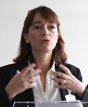 delphine ernotte, directrice exécutive d'orange france, lors de la cérémonie