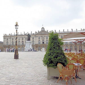 la place stanislas, à nancy.